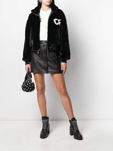 Picture of Chiara Ferragni | Faux Fur Bomber Jacket