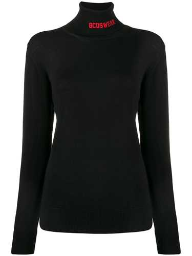 Picture of Gcds | Logo Knit Roll Neck Sweater