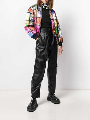 Picture of Gcds | Logo Print Bomber Jacket