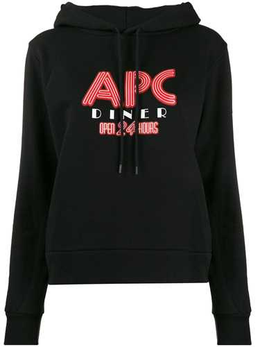 Picture of A.P.C. | Logo Print Hoodie