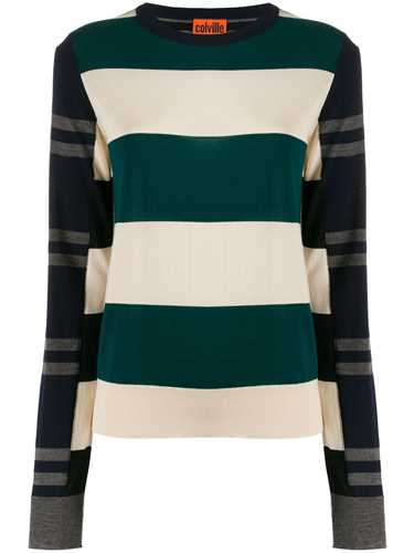 Picture of Colville | Striped Color-Block Sweater