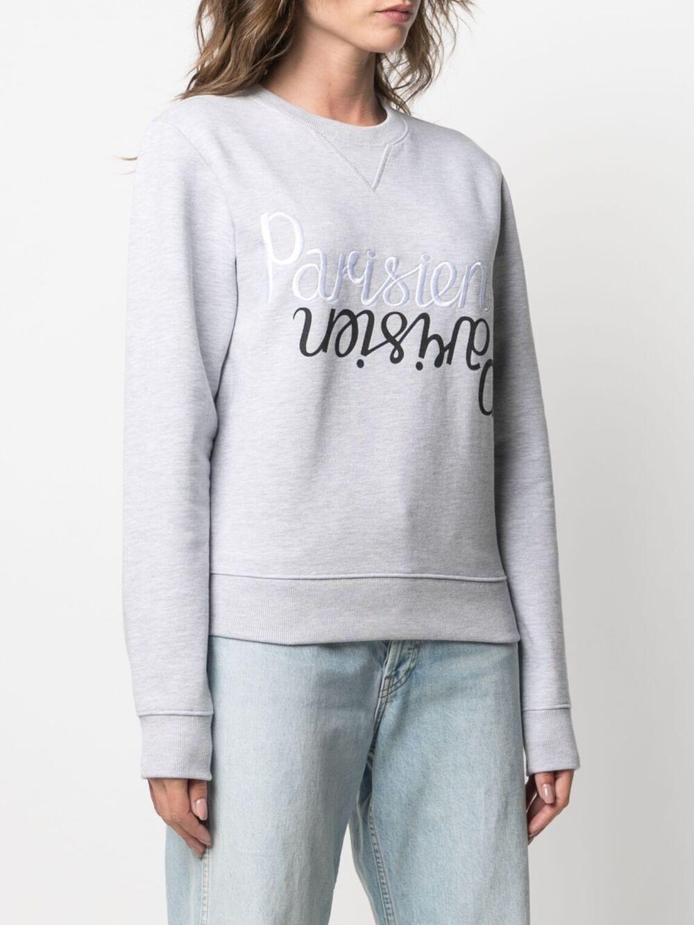 Picture of Maison Kitsune` | Embroidered Parisien Sweatshirt