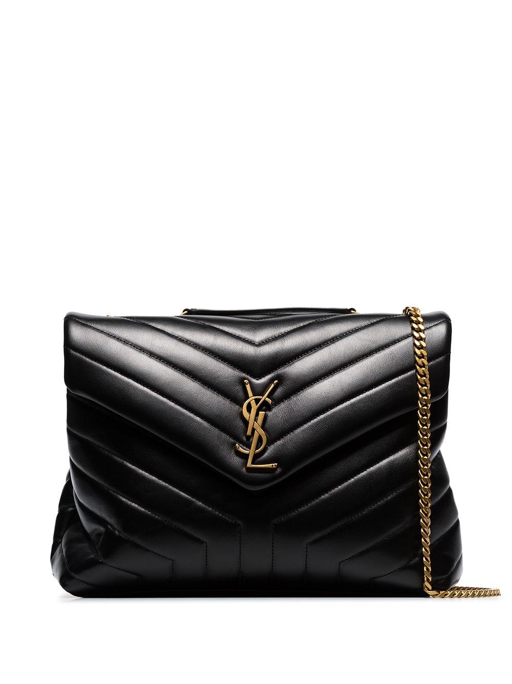 Picture of Saint Laurent | Medium Loulou Shoulder Bag