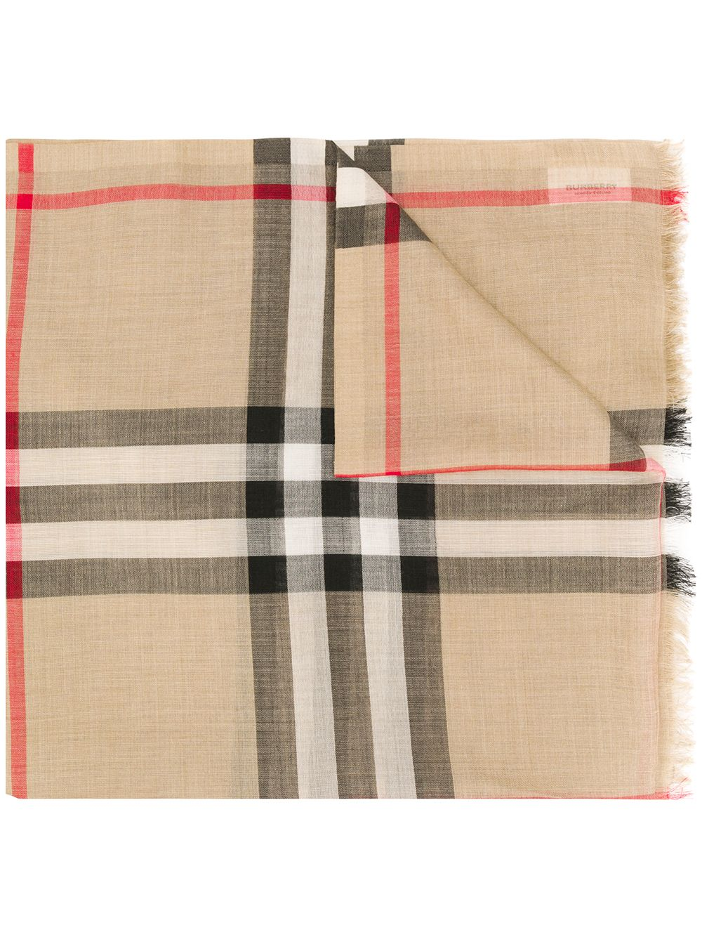 Picture of Burberry   Lightweight Check Scarf