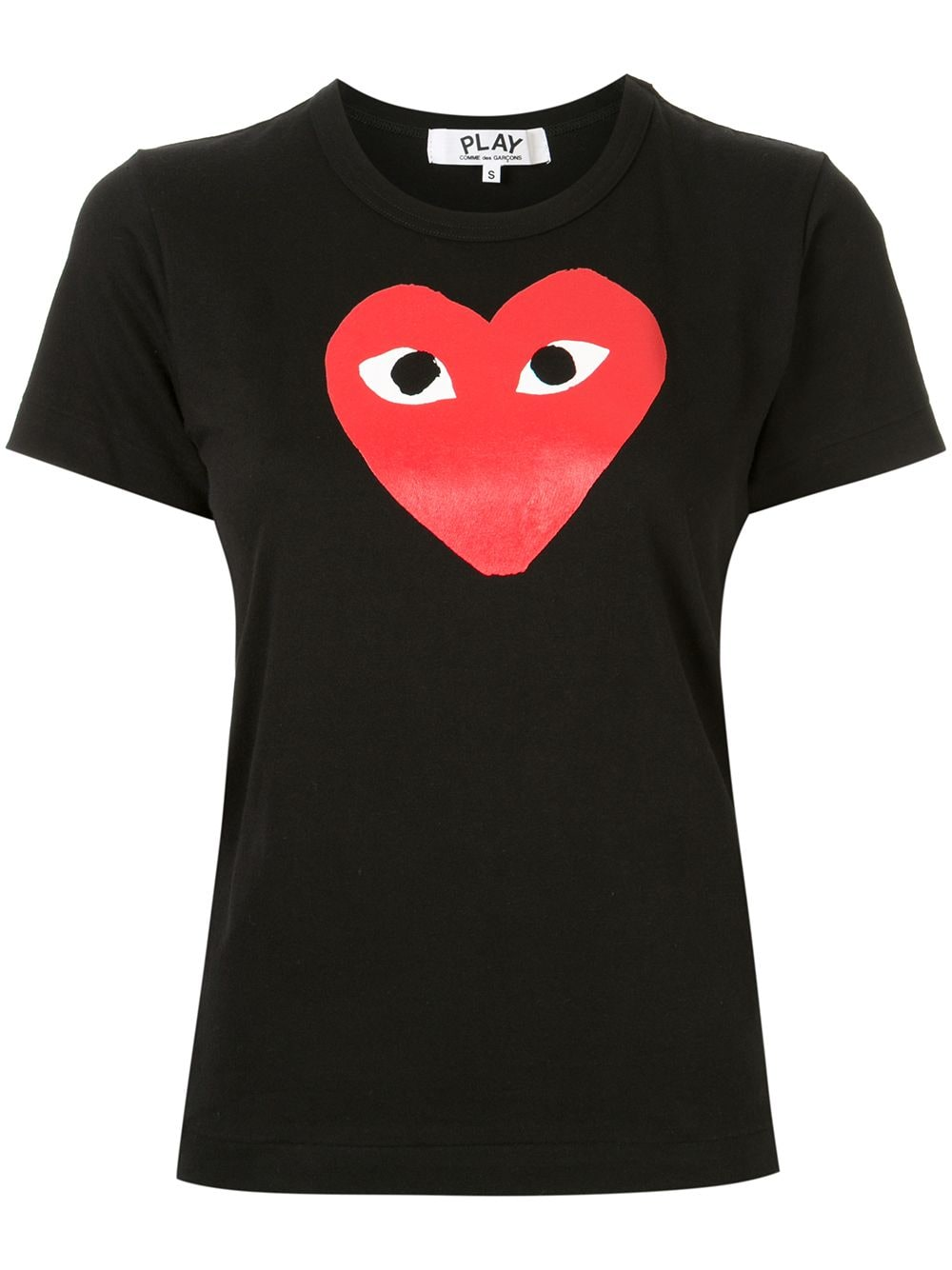 Picture of Comme Play | Red Heart T-Shirt