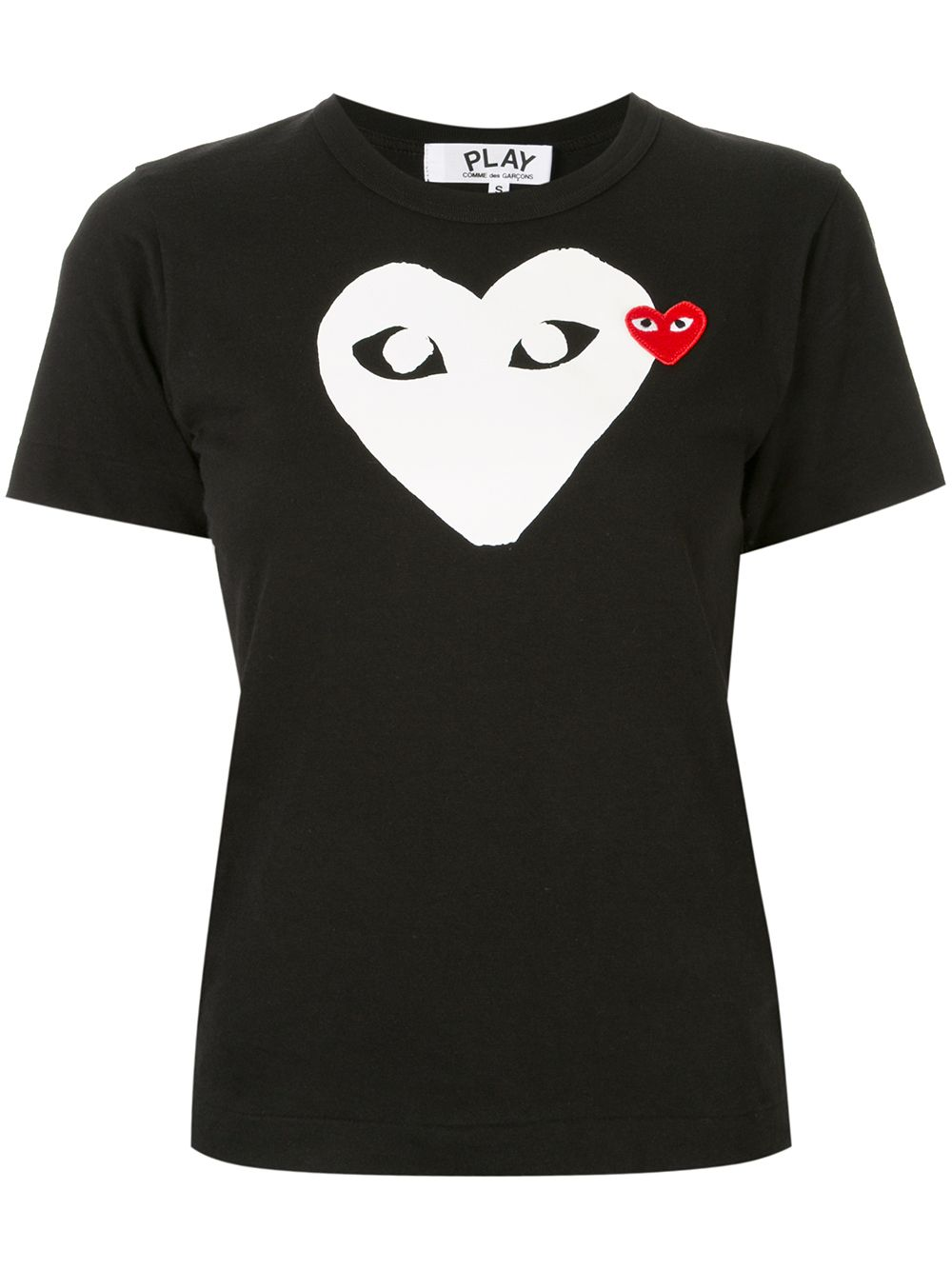 Picture of Comme Play   Heart T-Shirt