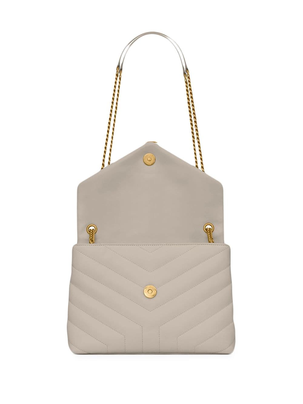 Picture of Saint Laurent   Loulou Quilted Shoulder Bag
