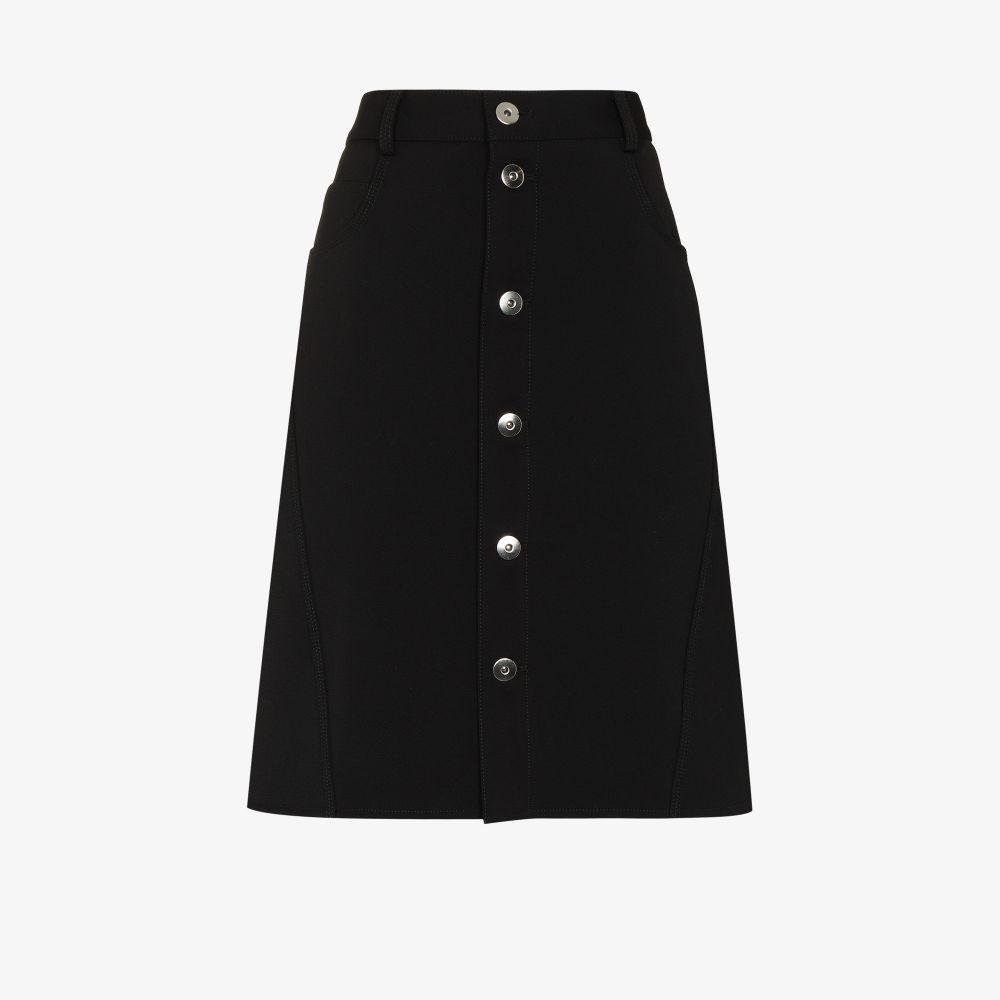 Picture of Bottega Veneta   A-Line Buttoned Skirt