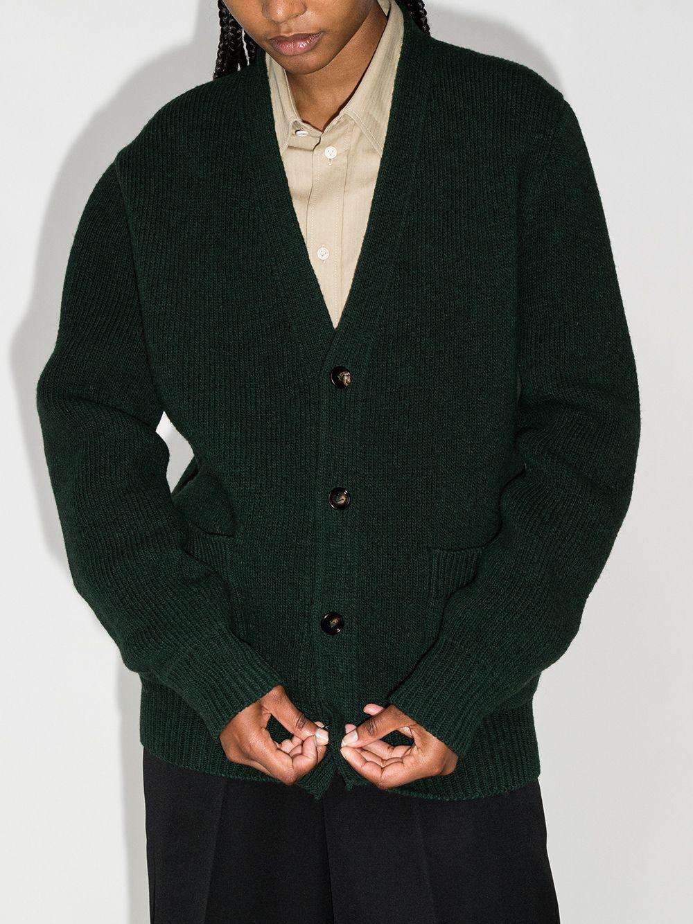 Picture of Bottega Veneta   V-Neck Wool Cardigan