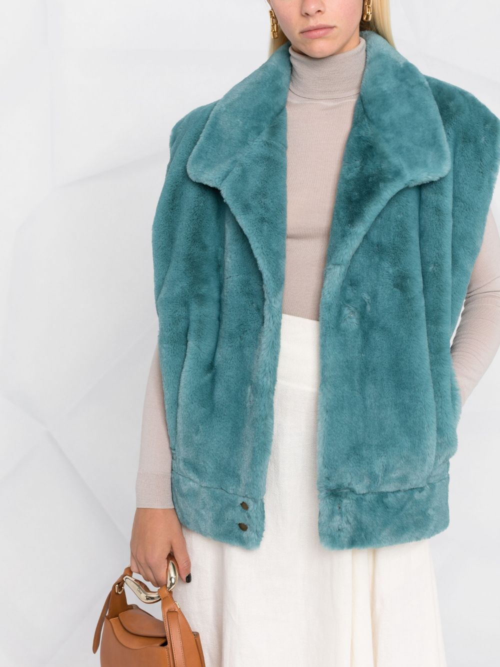 Picture of Forte_Forte | Eco Fur Shearling Gilet