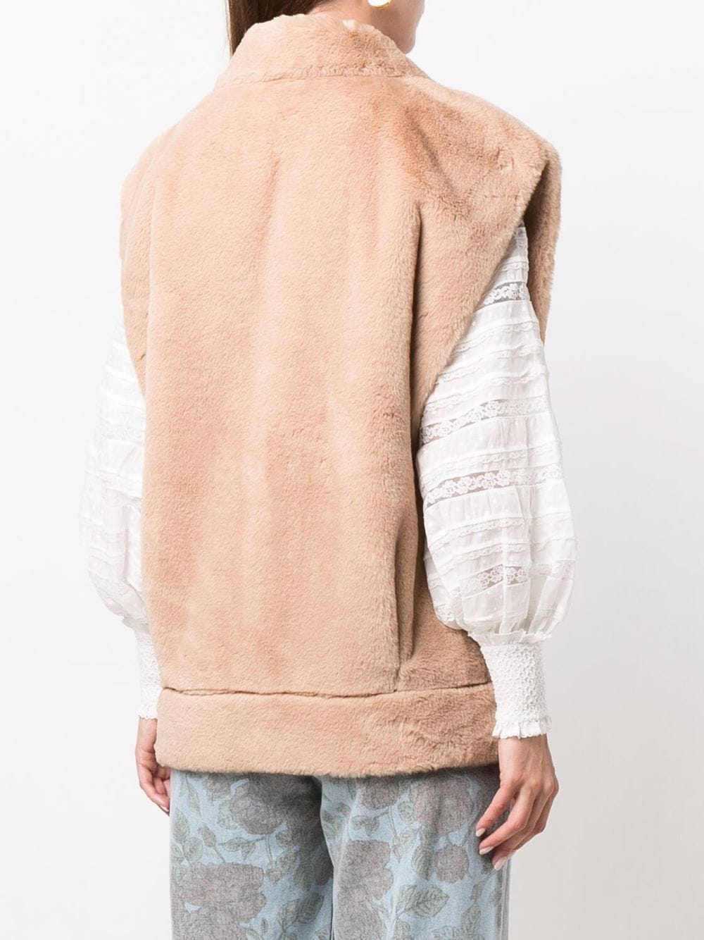 Picture of Forte_Forte   Eco Fur Shearling Gilet