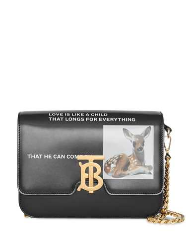 Picture of Burberry | Small Montage Print Tb Bag
