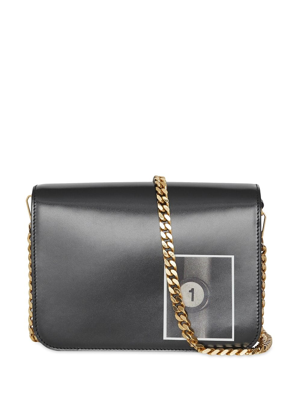 Picture of Burberry   Small Montage Print Tb Bag