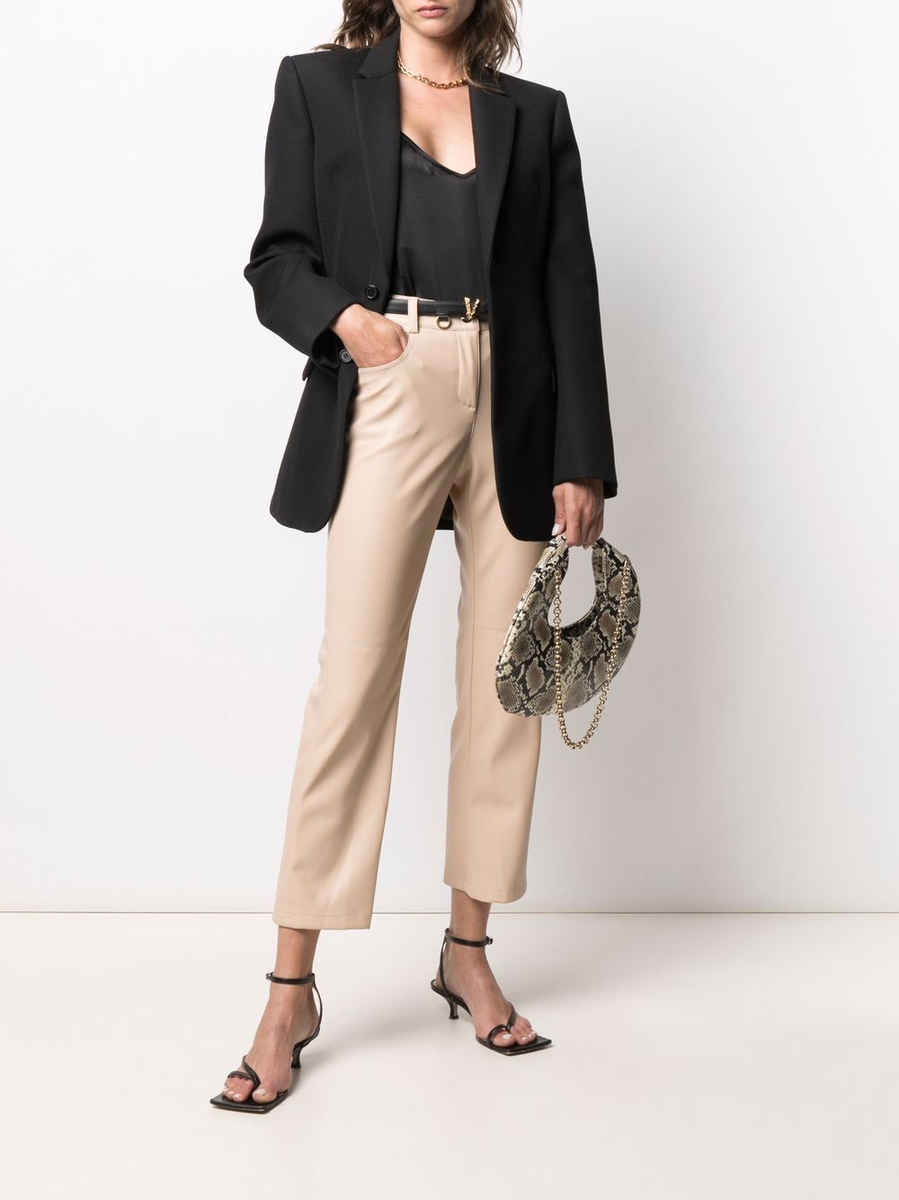 Picture of Semicouture | Flared Leg Trousers