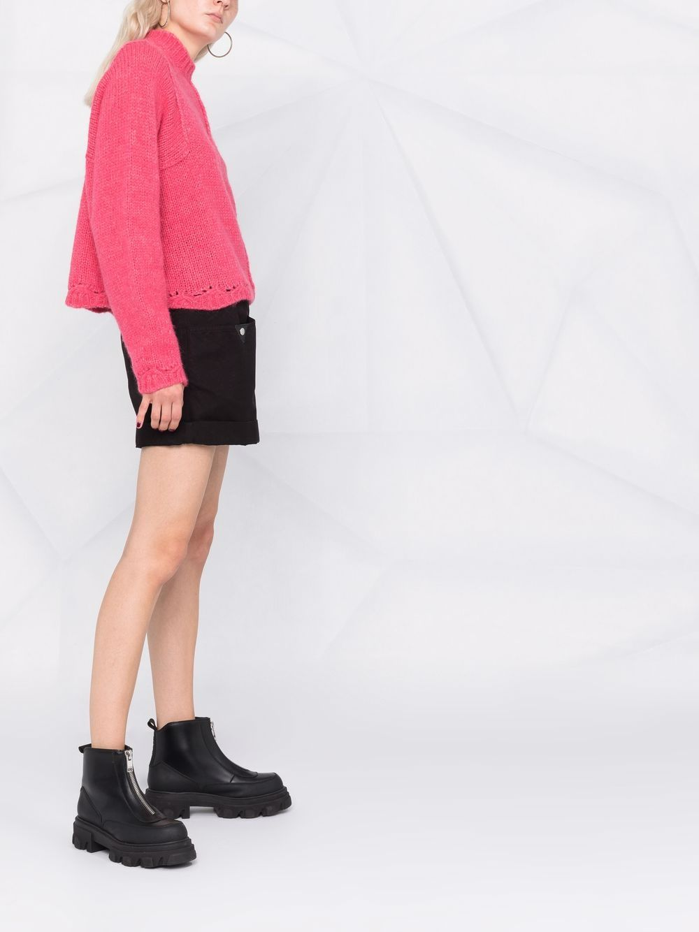 Picture of Semicouture | Crew-Neck Knitted Jumper