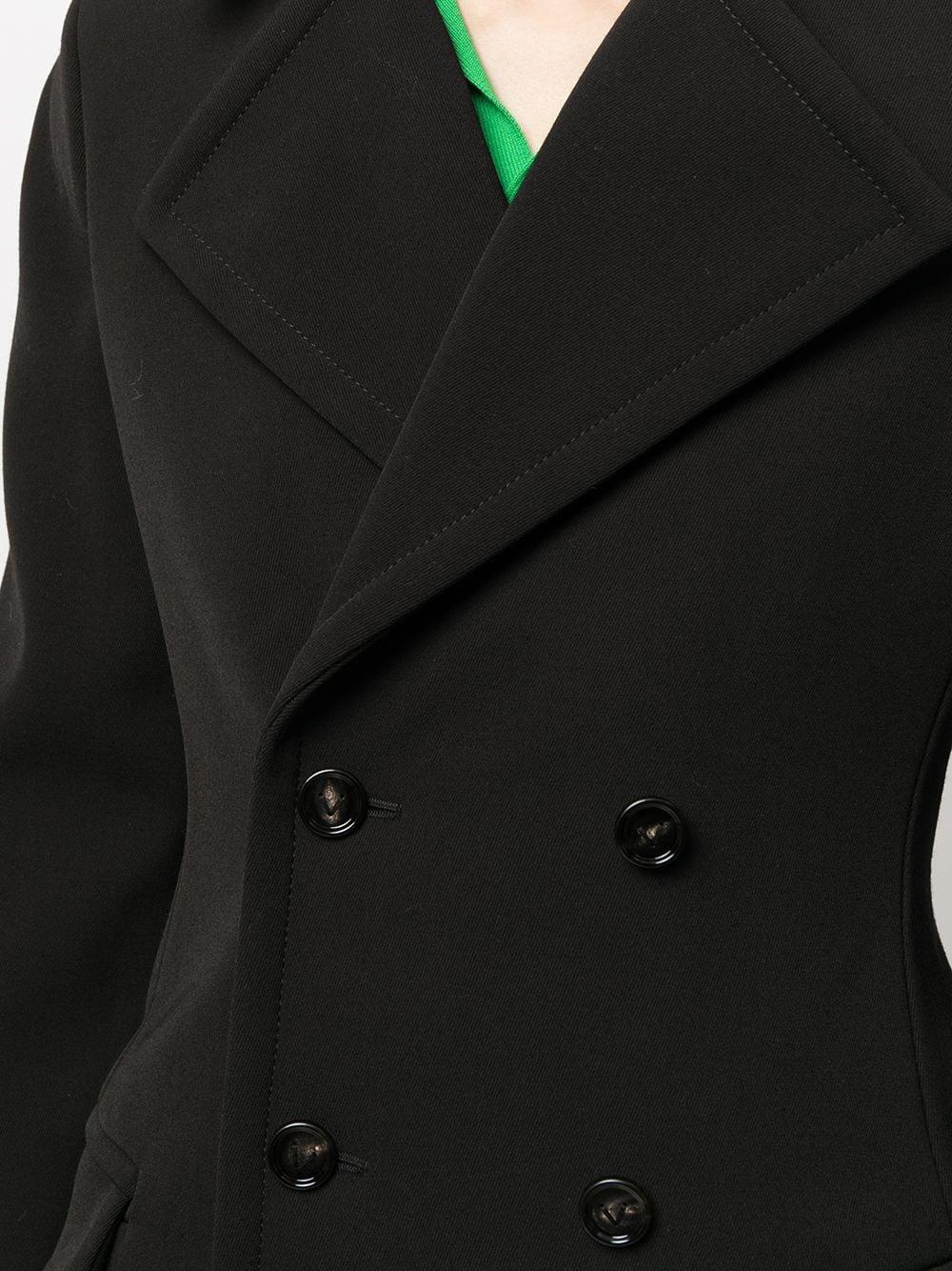 Picture of Bottega Veneta | Wool-Blend Double-Breasted Coat