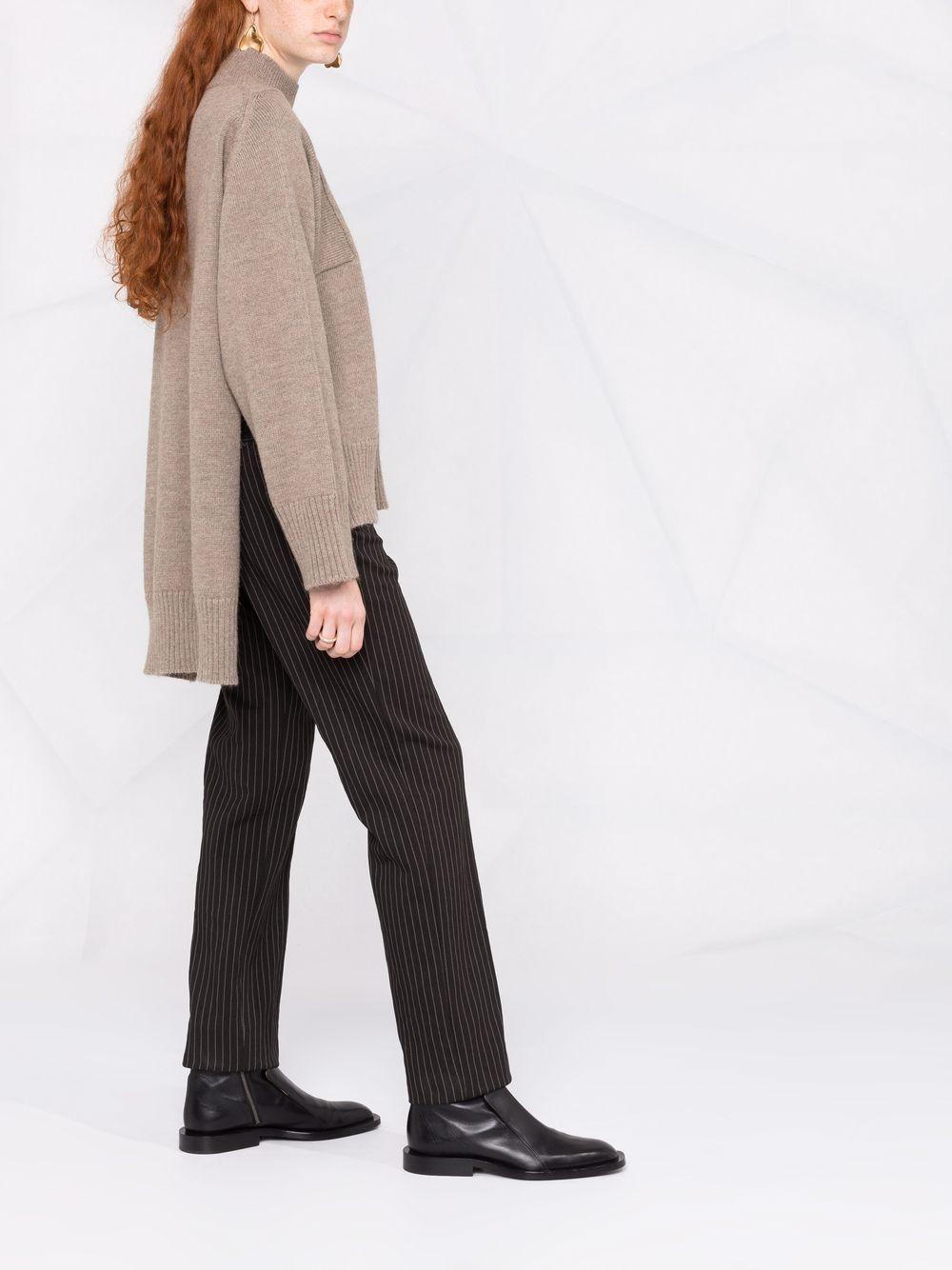 Picture of Erika Cavallini   Step-Hem Knitted Jumper