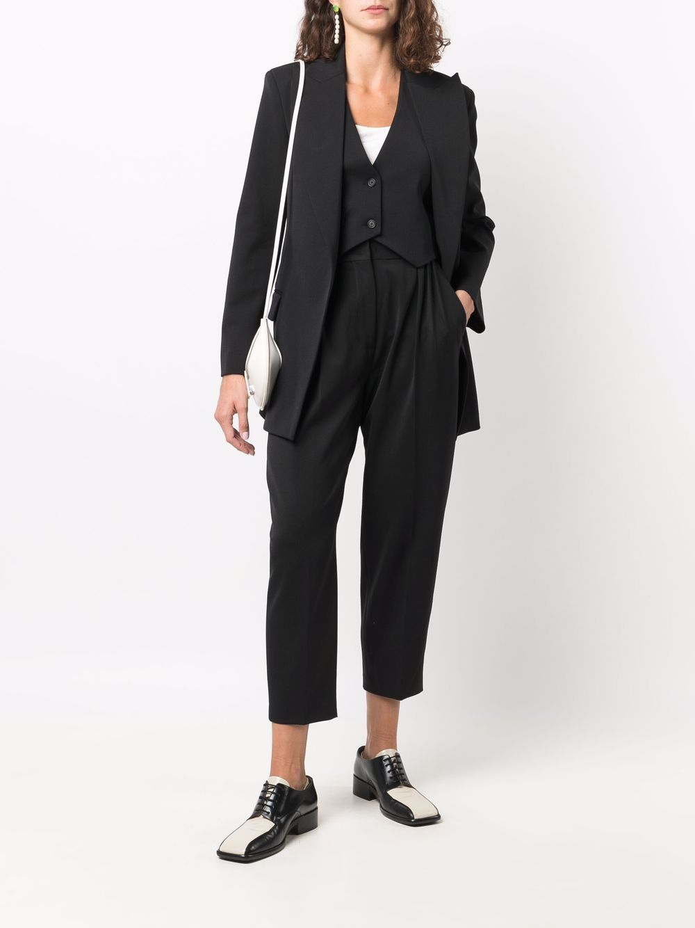 Picture of Erika Cavallini   Long-Length Single-Breasted Blazer