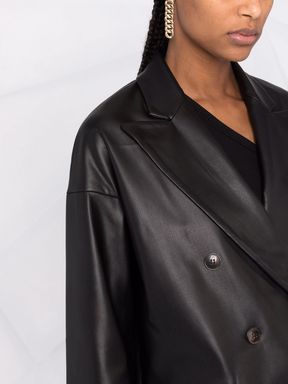Picture of Semicouture | Double-Breasted Jacket