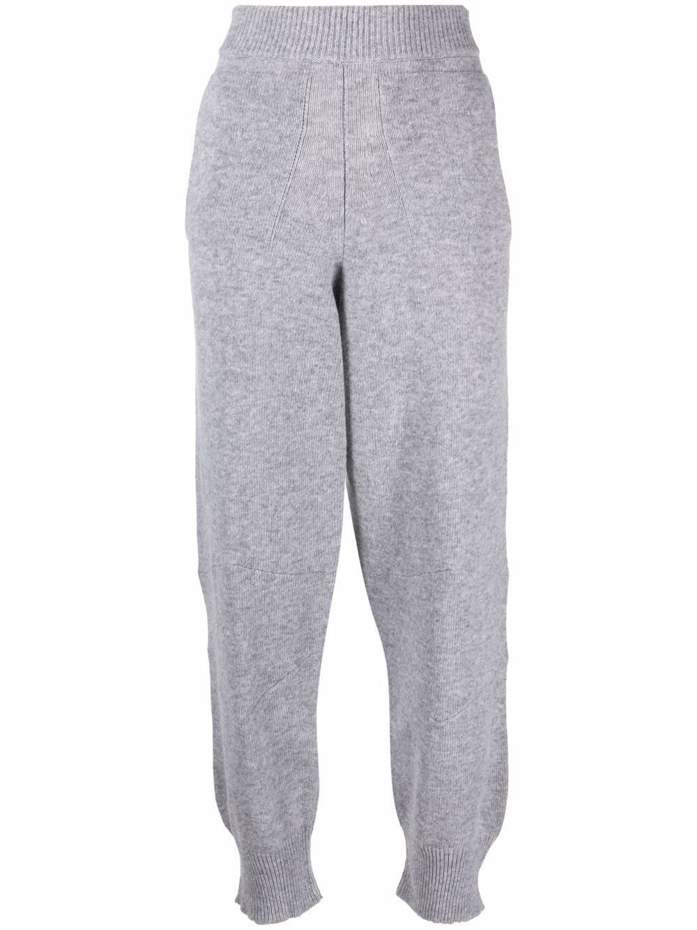 Picture of Semicouture   Knitted Loose-Fit Track Pants