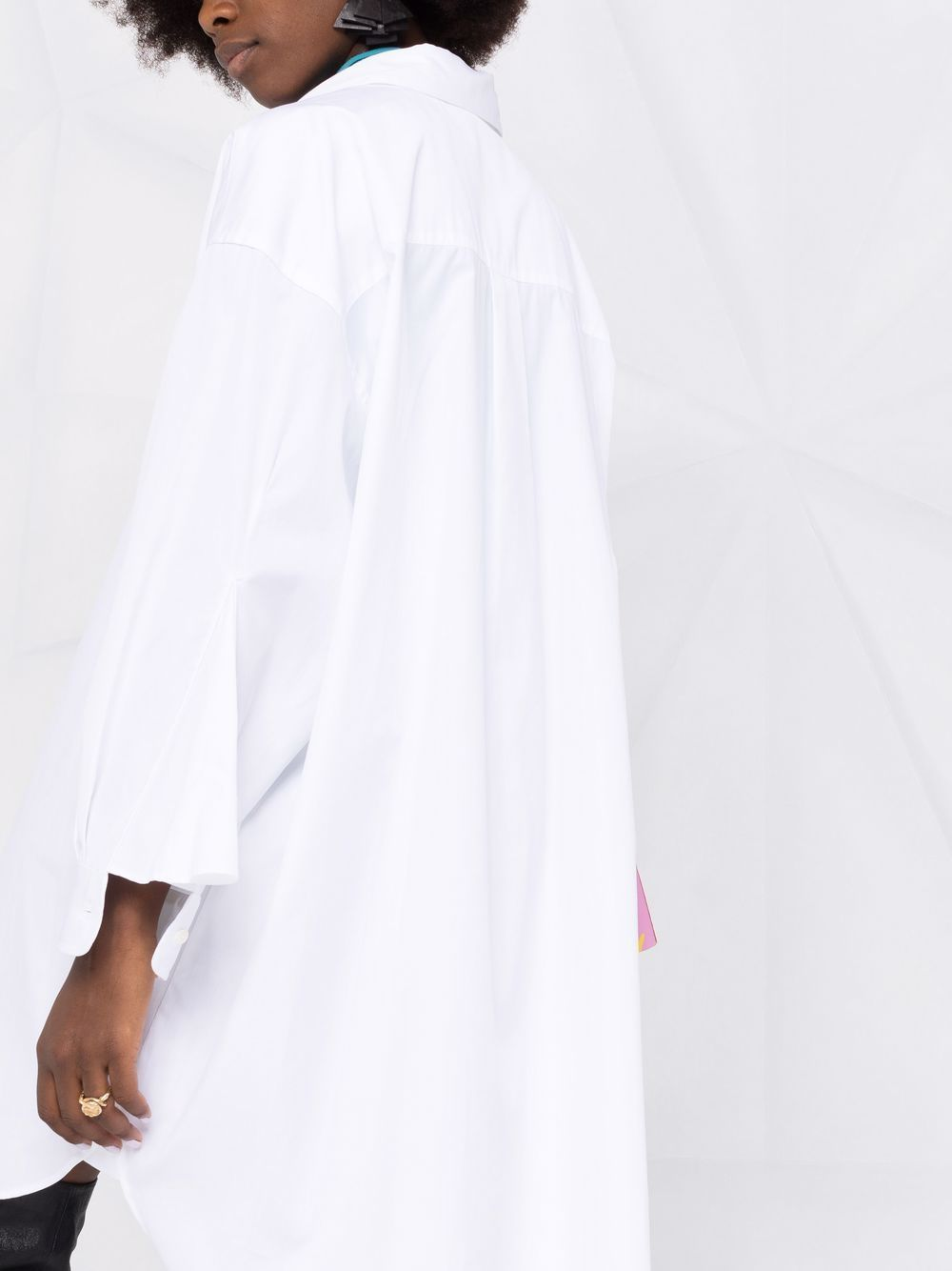 Picture of Semicouture   Plain Shirt Dress