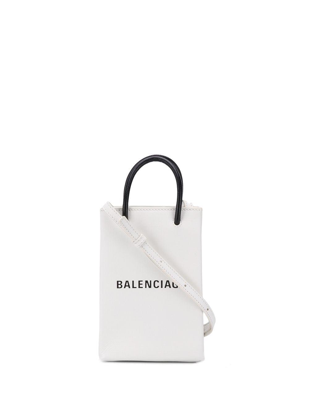 Picture of Balenciaga | Shopping Phone Bag On Strap