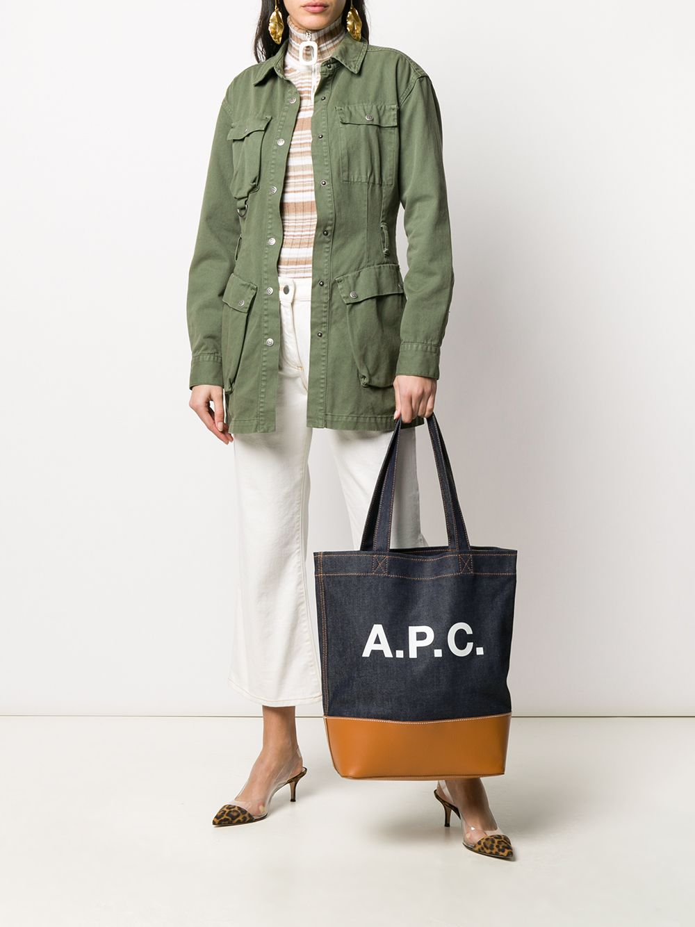 Picture of A.P.C.   Axelle Logo Tote Bag