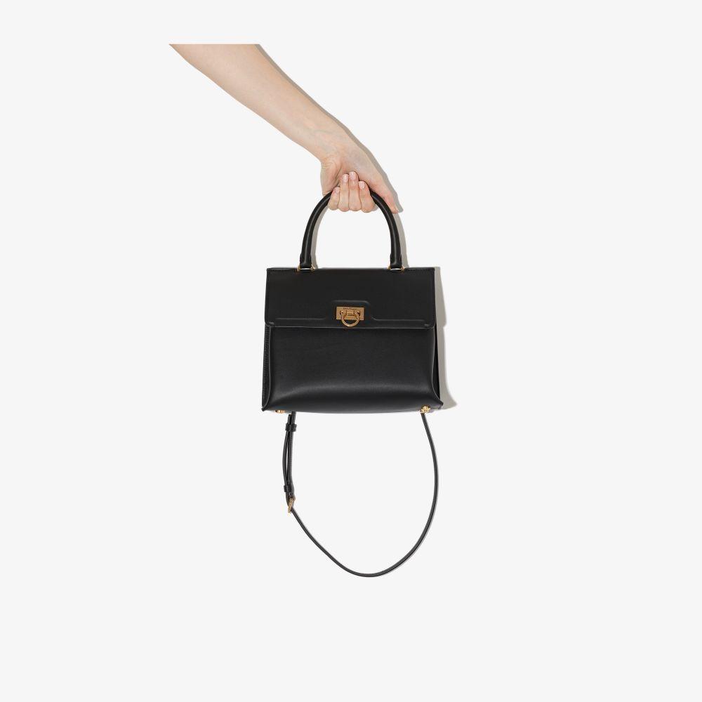 Picture of Ferragamo   Small Trifolio Top-Handle Bag