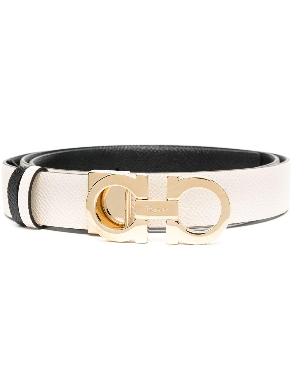Picture of Ferragamo | Gancini Leather Belt