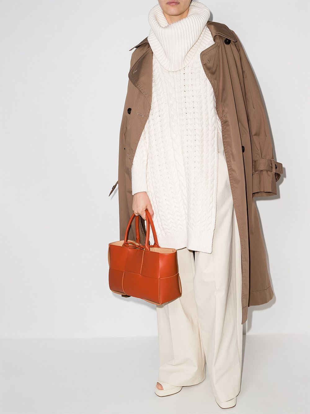 Picture of Bottega Veneta | Interwoven-Design Tote Bag