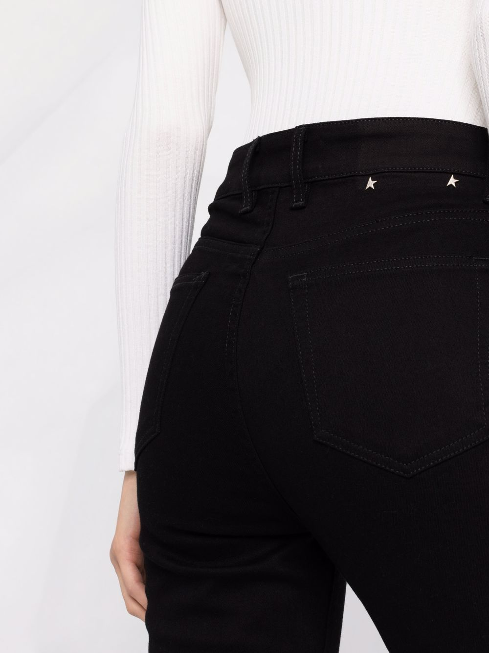 Picture of Golden Goose Deluxe Brand   Skinny Cut Denim Jeans