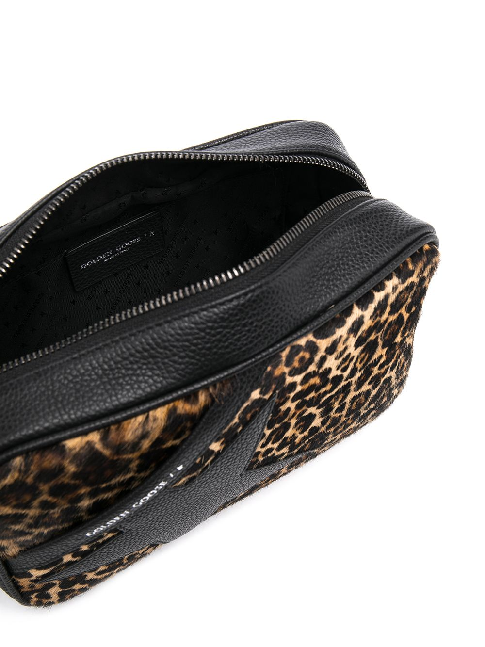 Picture of Golden Goose Deluxe Brand | Leopard Star Cross-Body Bag