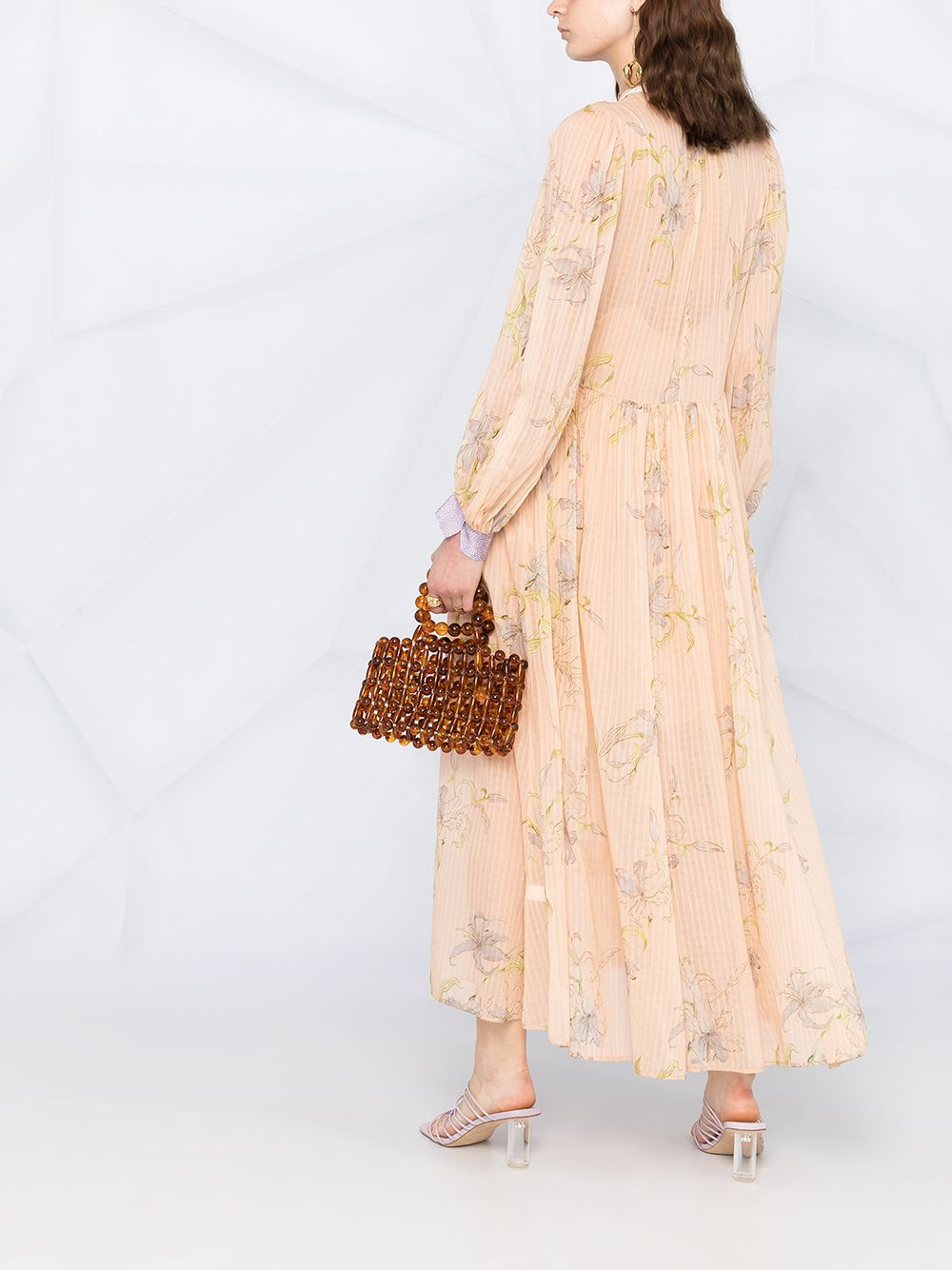 Picture of Forte_Forte | Floral-Print Pleated Dress