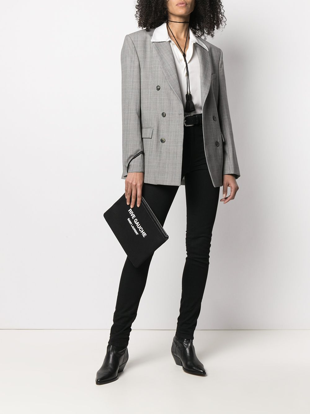 Picture of Saint Laurent | High-Rise Skinny Jeans