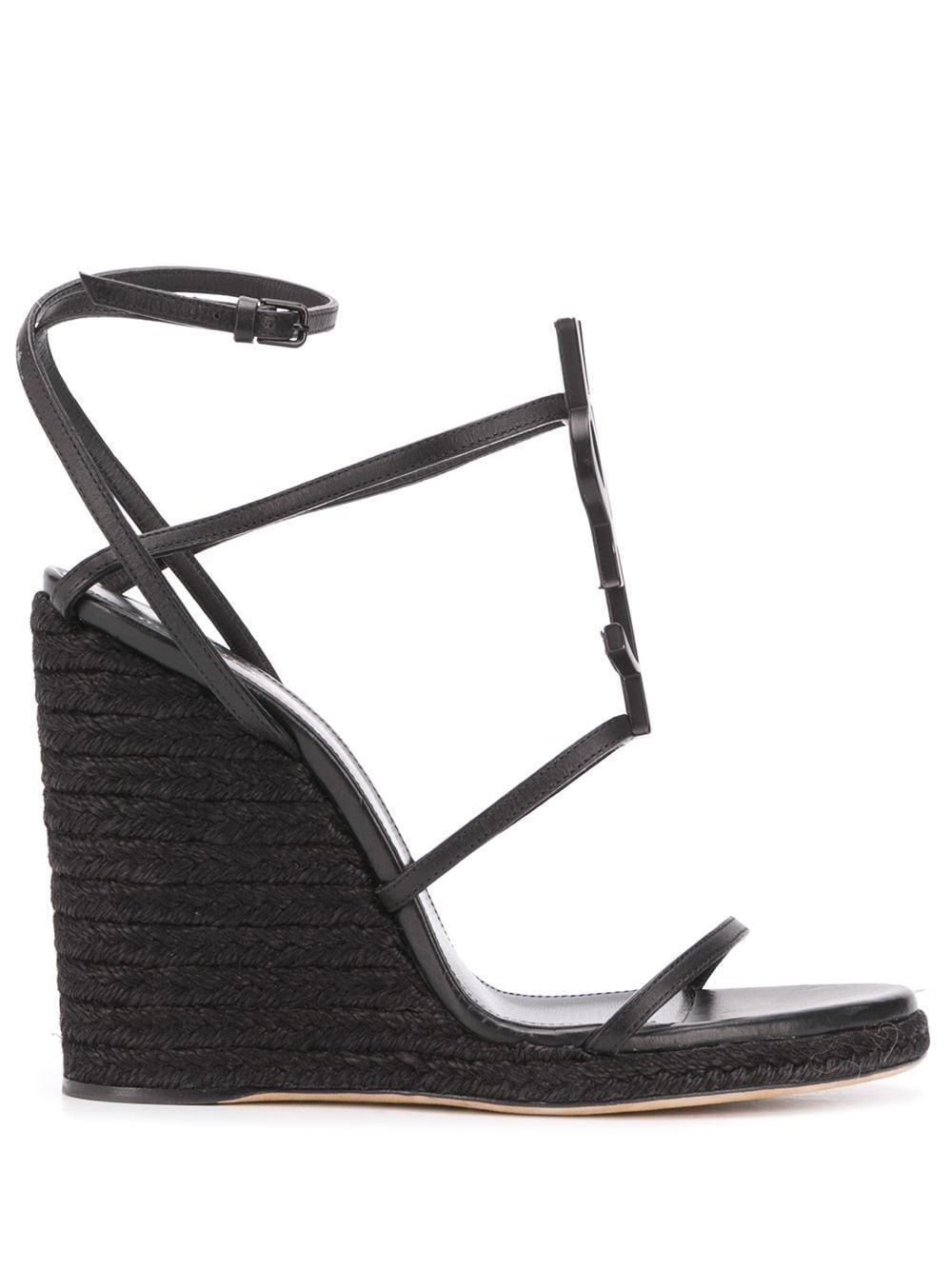 Picture of Saint Laurent | Cassandra 120Mm Sandals