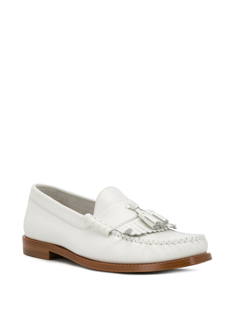 Picture of Celine | Loafer With Tassels In Polished Calfskin