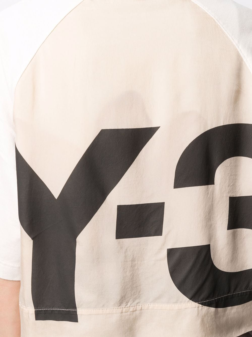 Picture of Adidas Y-3 | Logo-Print Organic Cotton T-Shirt