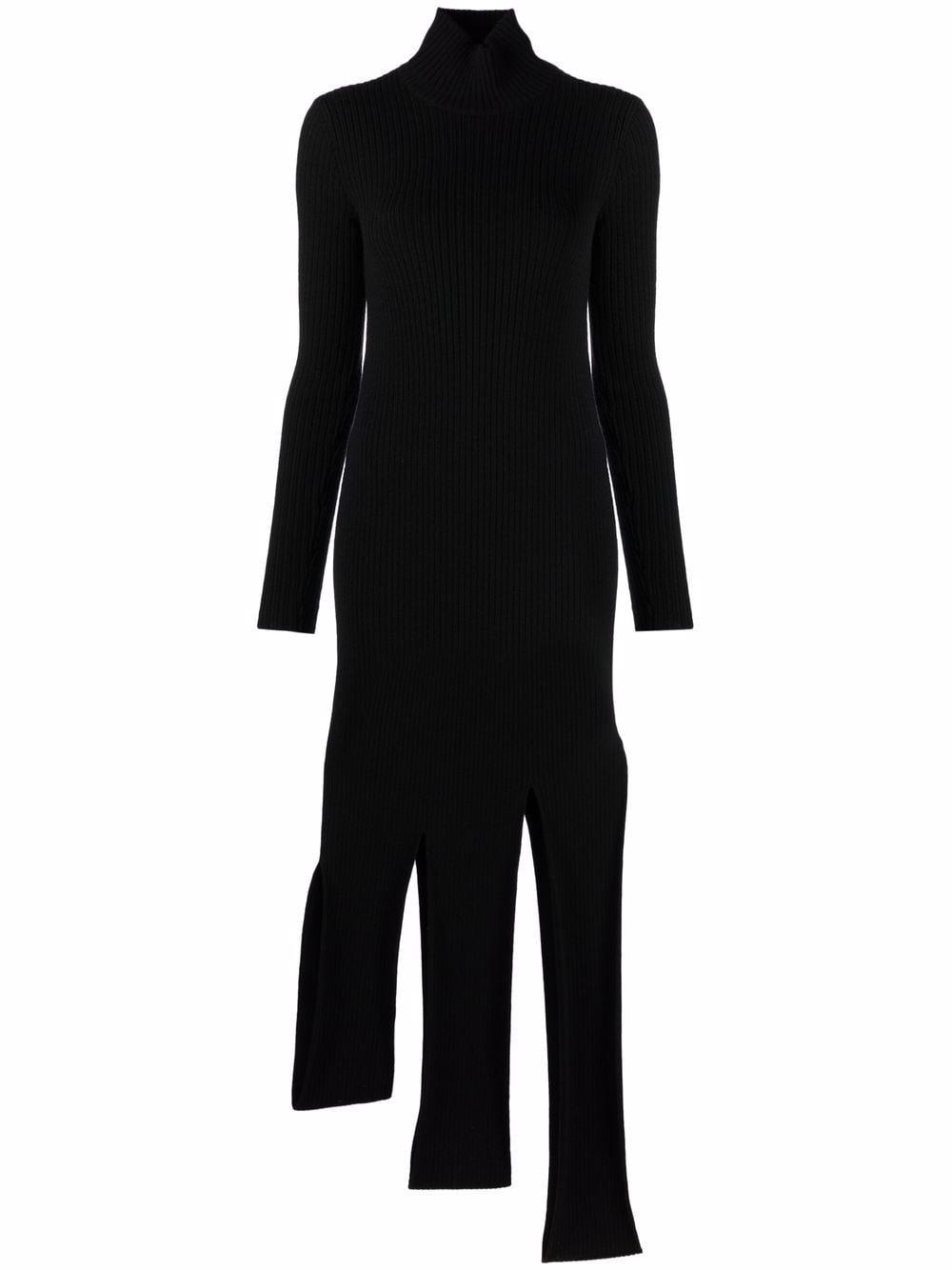Picture of Bottega Veneta | Asymmetric Knitted Dress