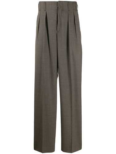 Picture of Maison Kitsune` | High Waisted Pleated Trousers