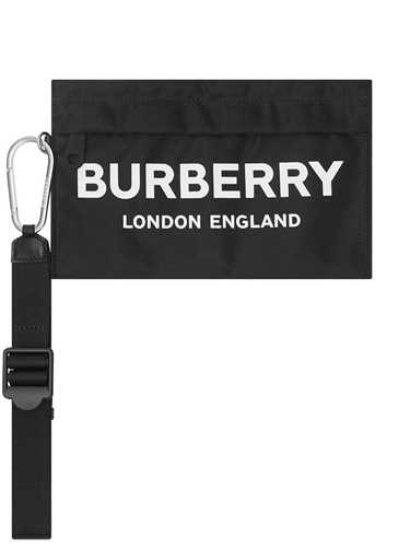 Picture of Burberry | Logo Print Zip Pouch