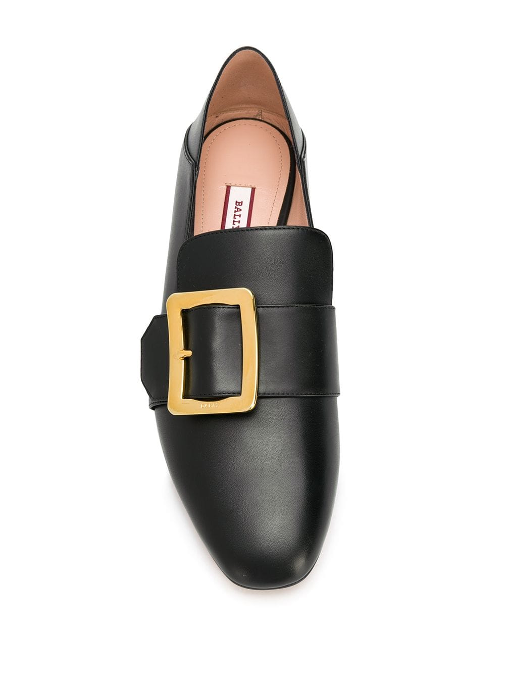 Picture of Bally | Janelle Buckled Slip-On Loafers