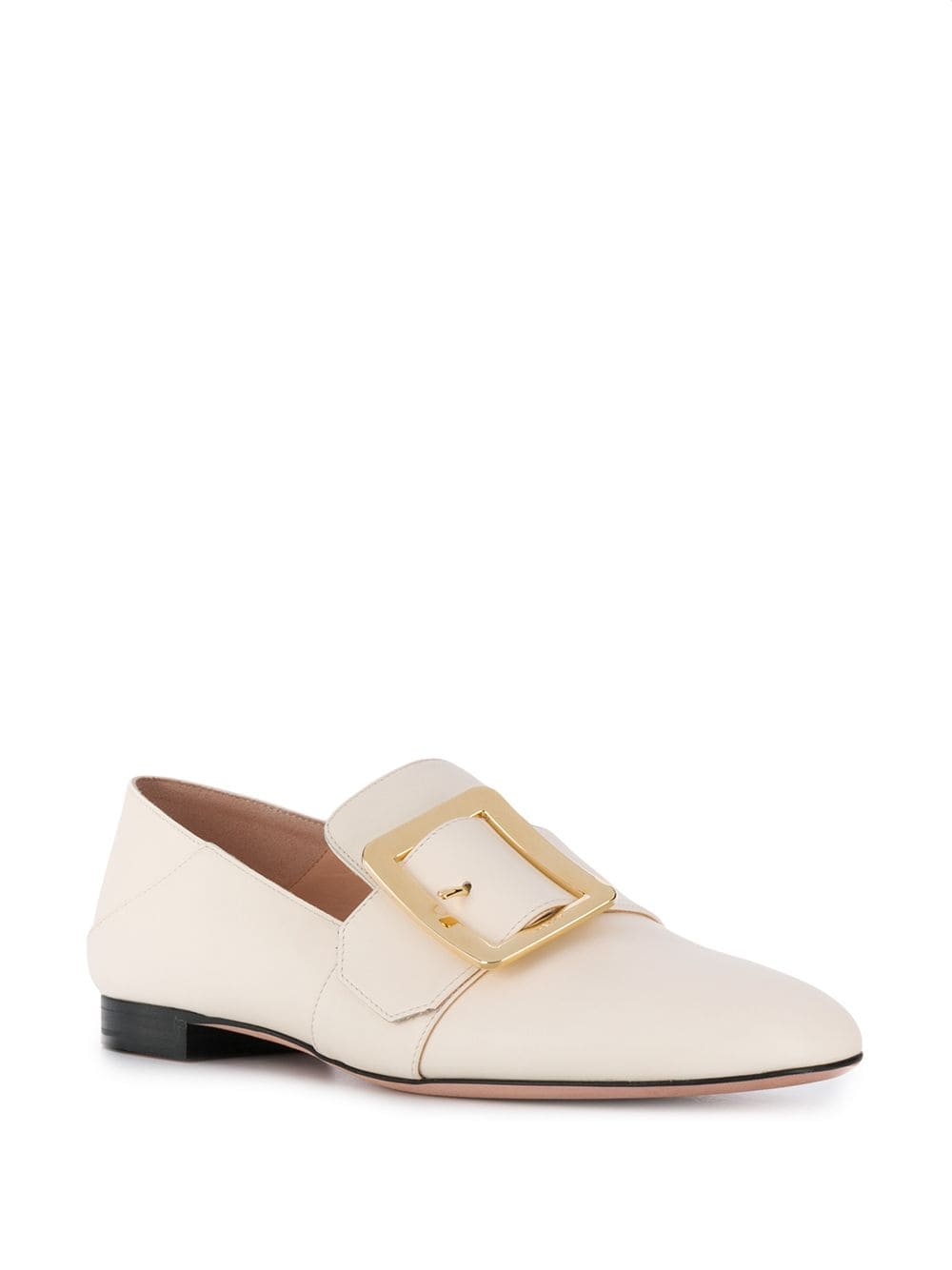 Picture of Bally | Janelle Buckle Detail Loafers