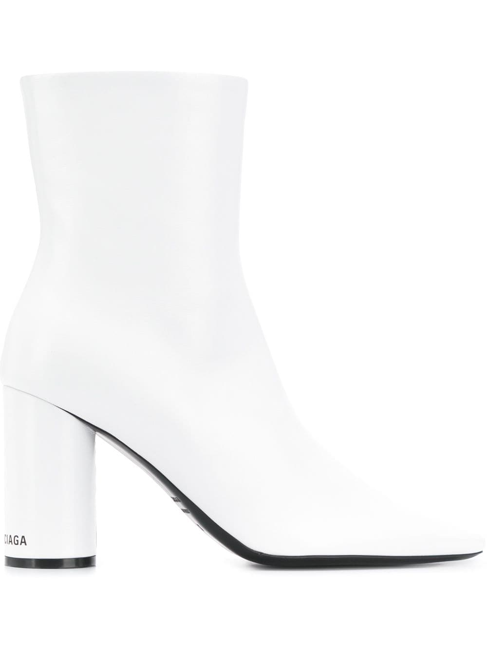 Picture of Balenciaga | Round Ankle Boots