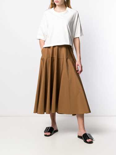Picture of Aspesi | High-Rise Flared Skirt