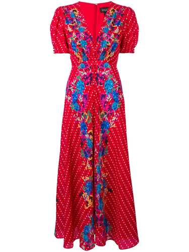 Picture of Saloni | Lea Maxi Dress