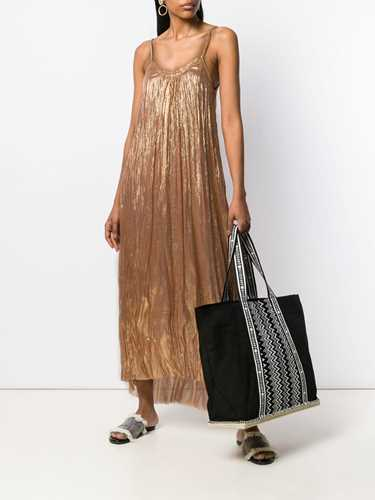 Picture of Forte_Forte | Metallic Flared Maxi Dress