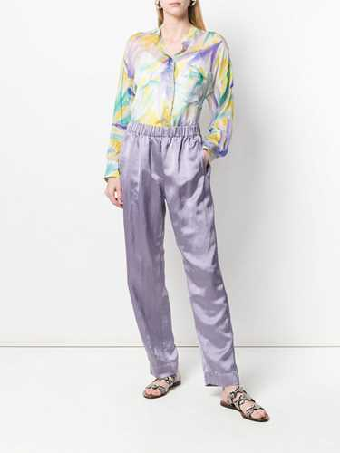 Picture of Forte_Forte | Multicoloured Silk Shirt