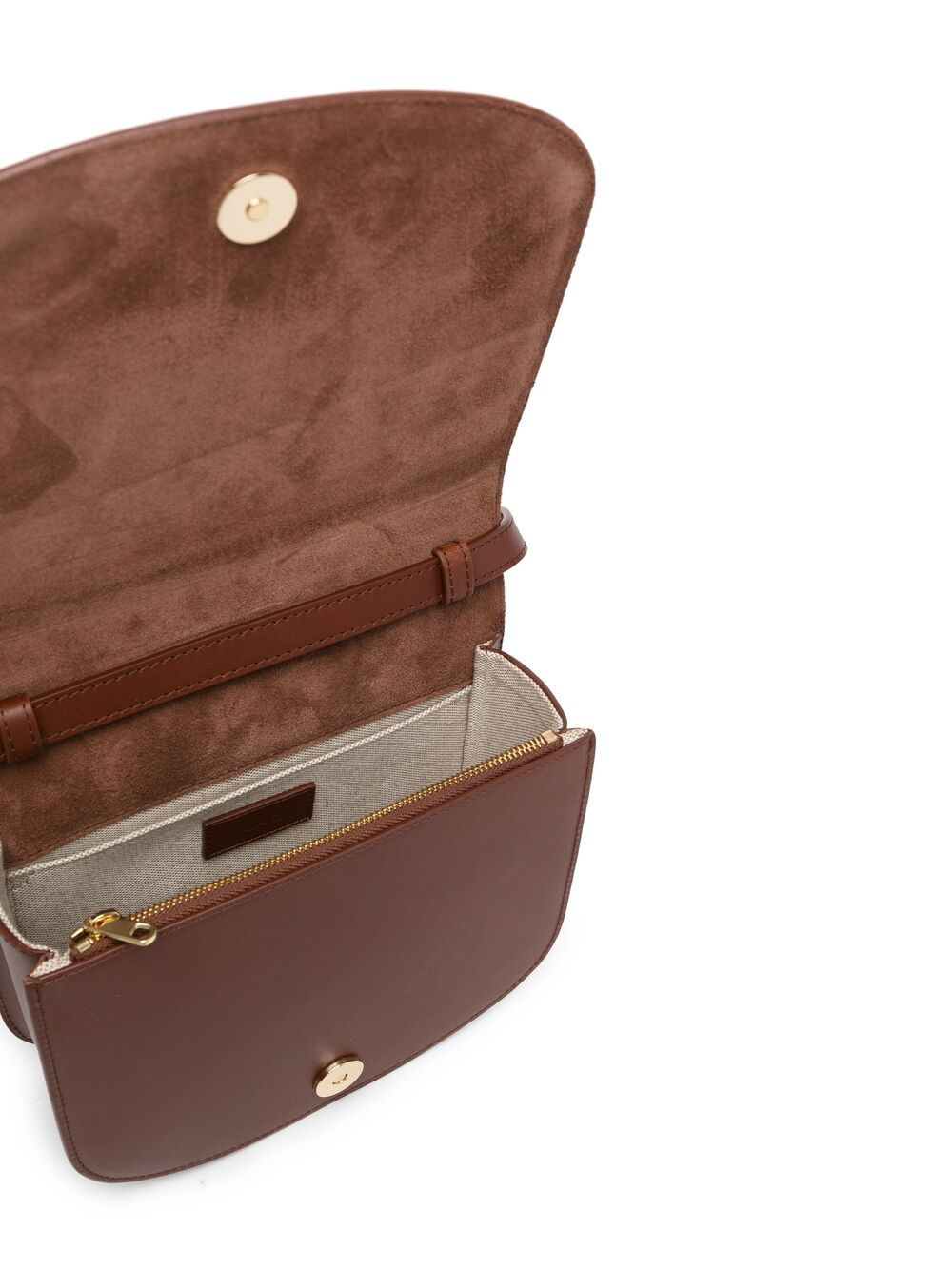 Picture of A.P.C. | Dina Leather Shoulder Bag