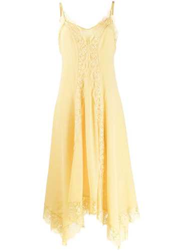 Picture of Ermanno Ermanno | Floral Lace Panel Dress
