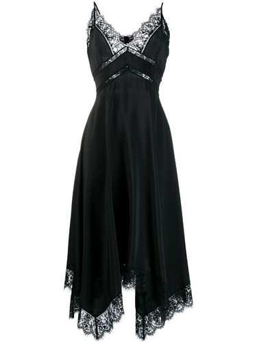 Picture of Ermanno Ermanno | Scalloped Lace Drape Dress